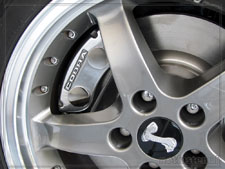 How to polish your brake caliper