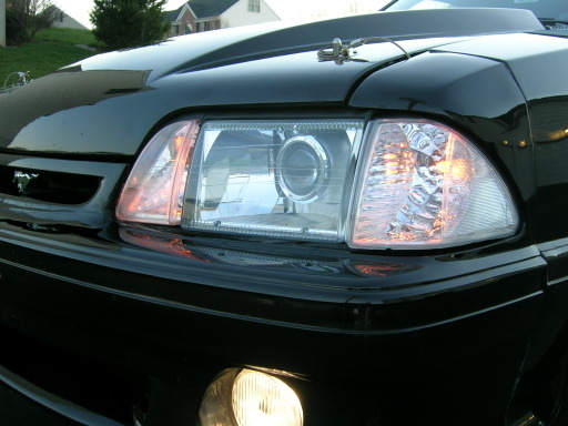 How To Equip Your 87 89 Mustang With Hid Headlights Projection
