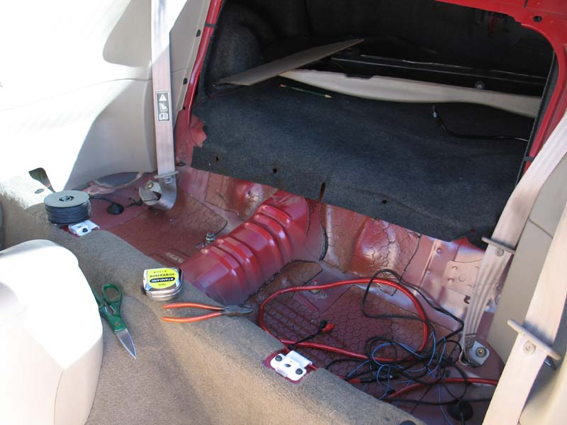 How to make  build a Rear Seat Delete for a Mustang  DIY