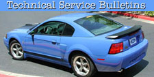 1996 - 2004 Mustang Technical Service Bulletins